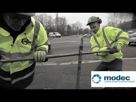 Modec - Actionneur pneumatique portable pour la manoeuvre de vanne de sectionnement