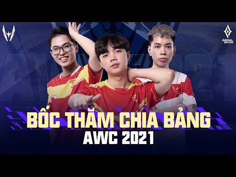 BỐC THĂM CHIA BẢNG AWC 2021: TEAM FLASH Rơi Vào Bảng Tử Thần Cùng MAD TEAM & BURIRAM