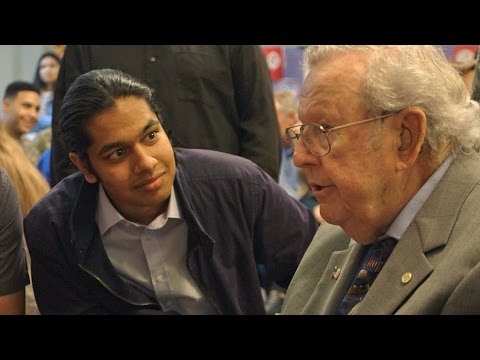 Thumbnail: 18-Year-Old Surprises WWII Veterans Who Have Changed His Life