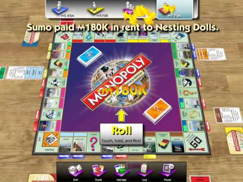 Monopoly Here & Now: The World Edition (iOS) - Display Recorder Gameplay