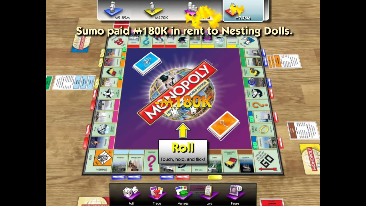 Monopoly here now the world edition ios display recorder gameplay youtube