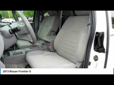 2013 Nissan Frontier Point Pleasant New Jersey U20762