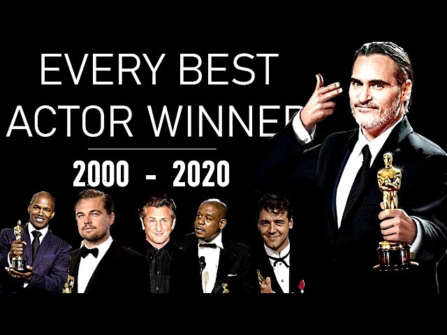 OSCARS \: Every Best Actor of the century so far (2000-2020) - TRIBUTE VIDEO