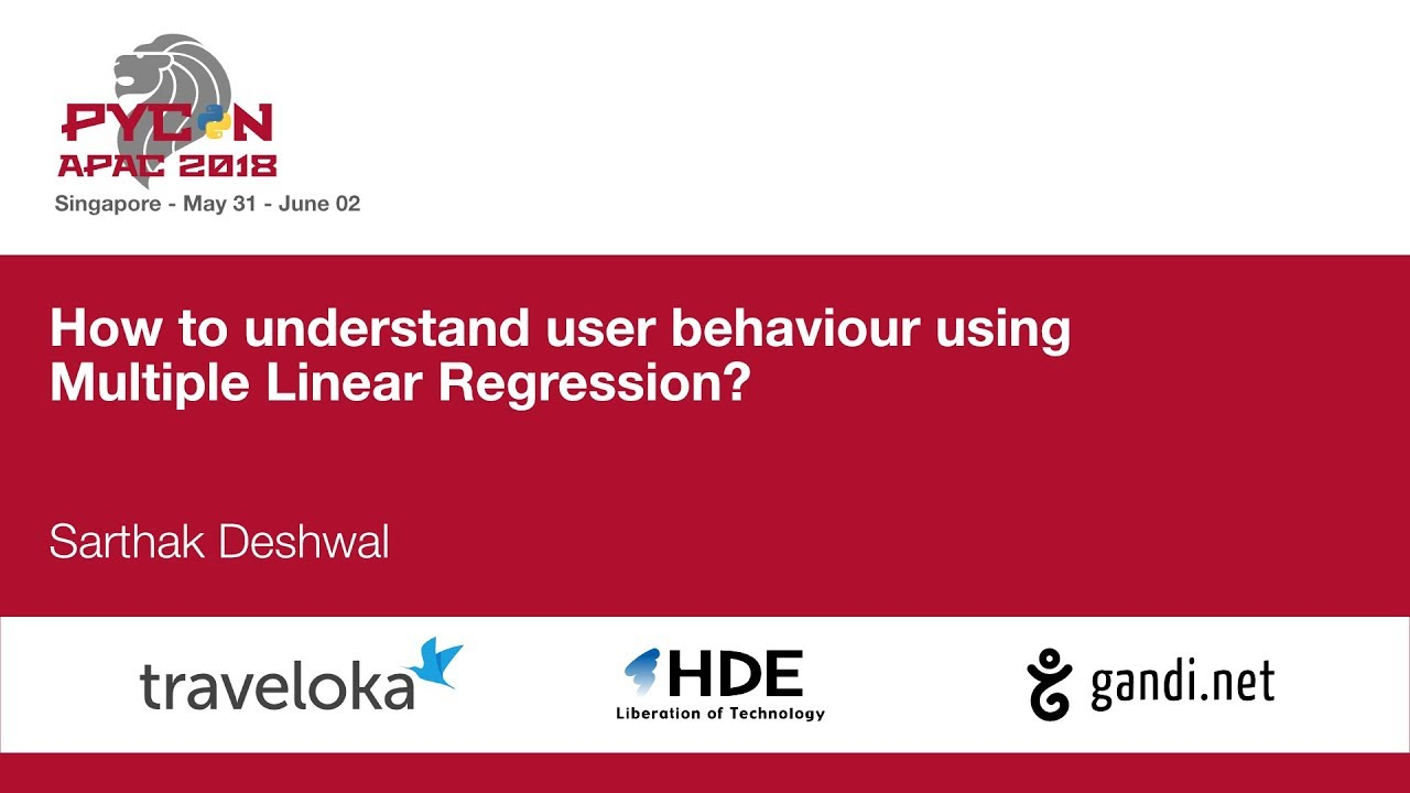 Image from How to understand user behaviour using Multiple Linear Regression?