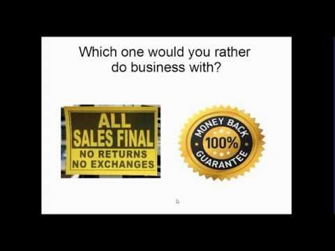 Why your business should offer a Money Back Guarantee - Midweek Momentum