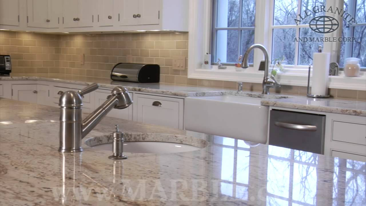 Colonial Gold Granite Kitchen Colonial Gold Granite Kitchen Countertops Iii Marblecom Youtube