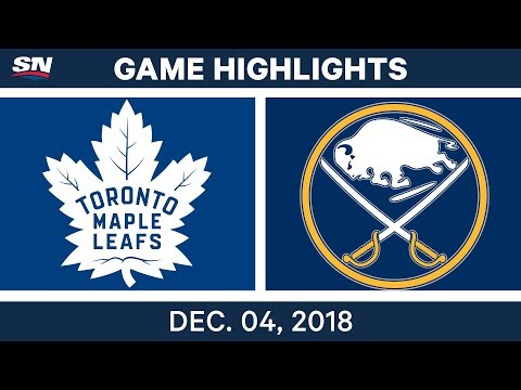 NHL Highlights | Maple Leafs vs. Sabres - Dec 4, 2018