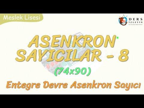 ASENKRON SAYICILAR - 8 / ENTEGRE DEVRE ASENKRON SAYICI  - 1