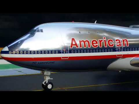Gemini 200 Vintage American Airlines B747-100(Previous Livery)Review