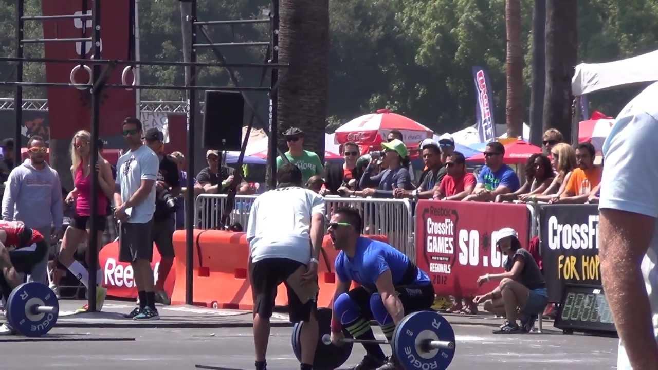 Download CrossFit Regionals 2012 SoCal Drew Wilson