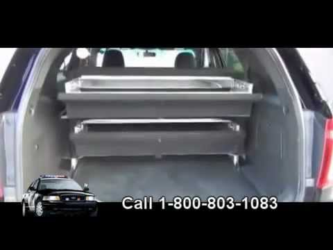 Secure Gun Locker For Car Police Vehicle Weapon Safe Trunk