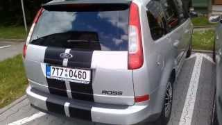Ford focus c-max 2004 1,6 Tdci Start Up, Engine, and In Depth Tour