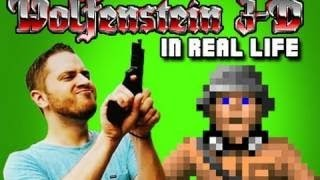 Wolfenstein 3D in REAL LIFE!