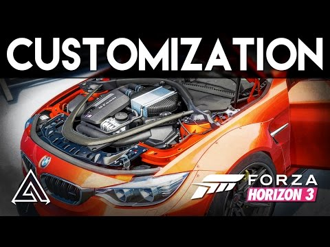 Forza Horizon 3   All Tuning & Customization Options