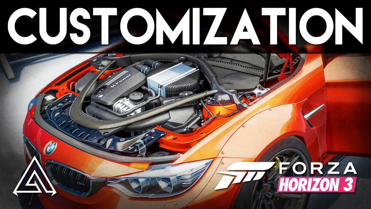 Car Customization Forza Horizon