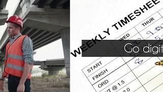 Construction Timesheet App