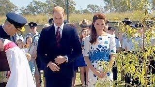 A royal walk-about - no comment