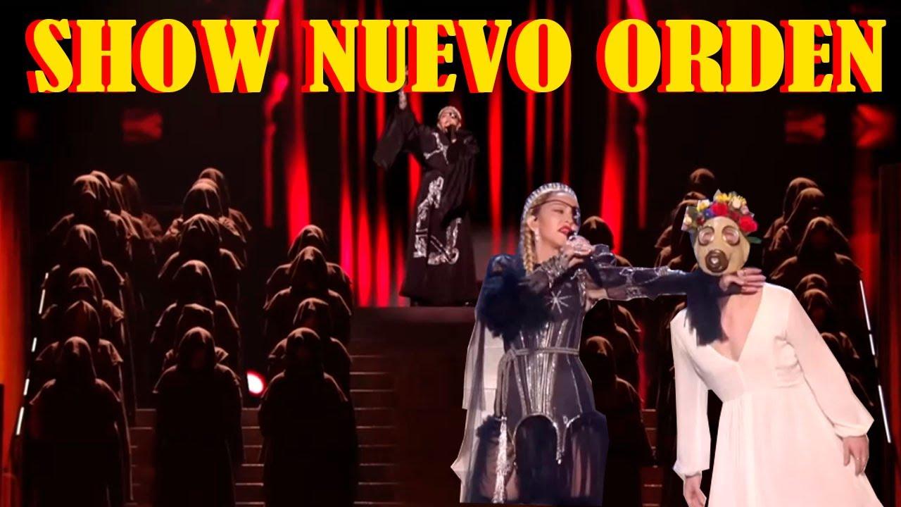 MADONNA nos mostraba el NUEVO ORDEN  hace 1 año en eurovision2019