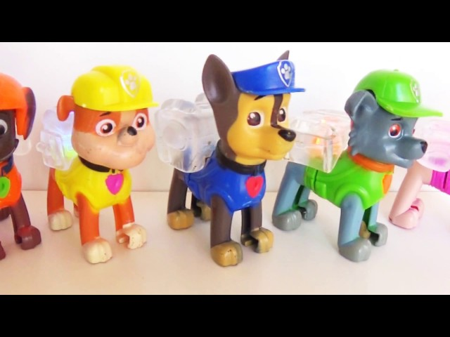 Paw Patrol Toy Review for Kids - Unboxing Toys (Marshall