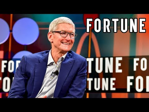 Watch Apple CEO Tim Cook Speak at Fortune's CEO Initiative