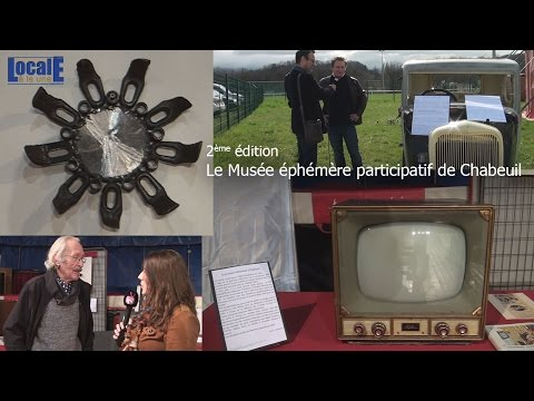 Musée éphémère à Chabeuil 2ème édition du 19 03 2017