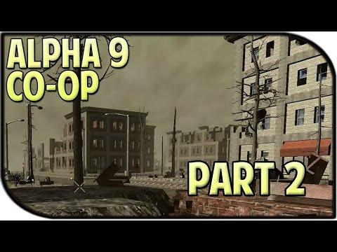 7 Days to Die Alpha 9 Gameplay Part 2 - CENTRAL CITY! (Coop)