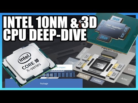 Intel 10nm & 3D Stacking Deep-Dive, ft. David Kanter