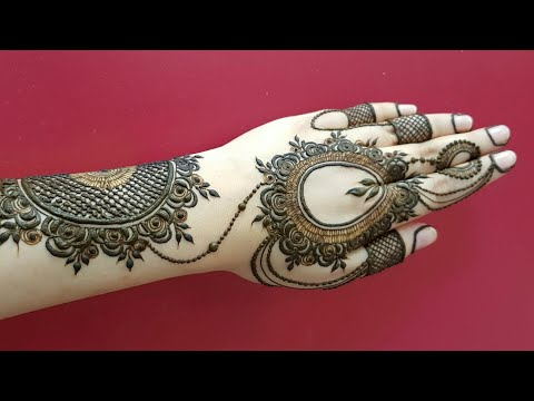 Valetine S Special Mehndi For Hands Heart Shape Henna Design 2018