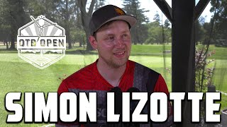 Simon Lizotte Reflects On His Injury, Recommends Catch & Talks Course Design | OTB OPEN INTERVIEW