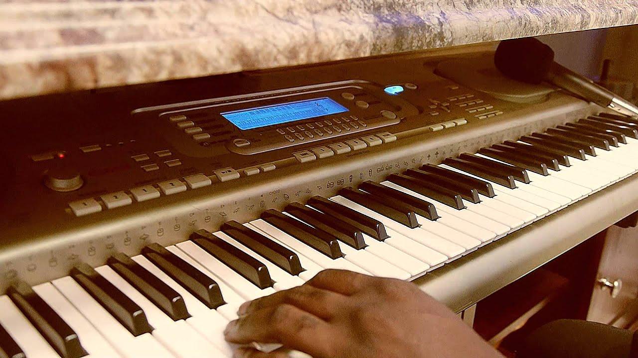 Gospel Producer Plays Drums on Keyboard on Glory to God Instrumental by Tye  Tribbett