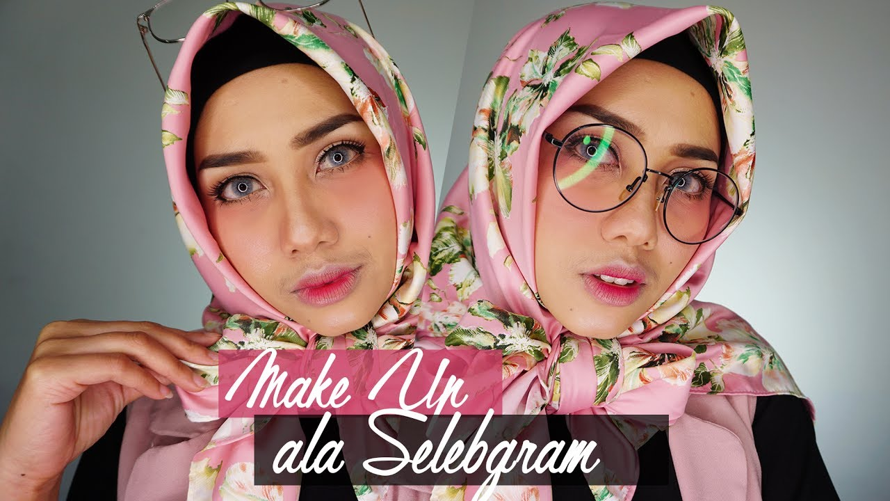 Tutorial Makeup Ala Selebgram Makeup Natural Dengan Blush On