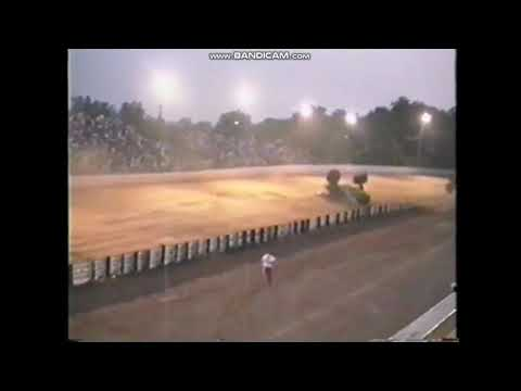 Grave Digger Crash Hagerstown Speedway Monster Jam 1993