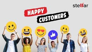 Stellar Data Recovery Services Customer Testimonial - Chandigarh Branch