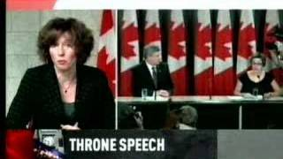 Throne speech highlights