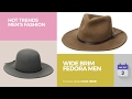 Wide Brim Fedora Men Hot Trends Men's Fashion