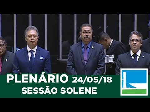 PLENÁRIO - Homenagem aos 163 anos do congregacionalismo pátrio  - 24/05/2018 - 09:25