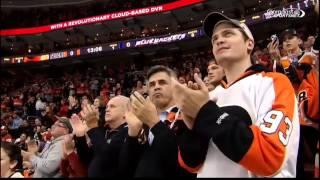Flyers 39 fans honor Scott Hartnell 11 14 14
