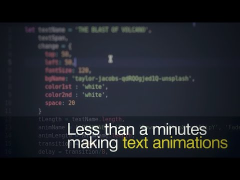 less-than-a-minute-|-text-animation-|-tutorial-step-by-step-with-source-code-+-subtitle