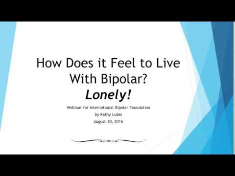 How Does it Feel to Live With Bipolar? Lonely!