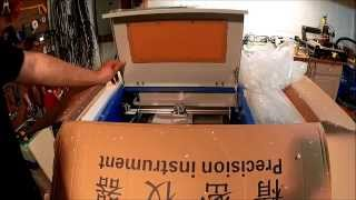 eBay Chinese CO2 Laser Cutter & Engraver - Unboxing Part 1!