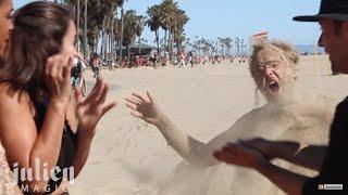 Sand Ghost Prank  -Julien Magic