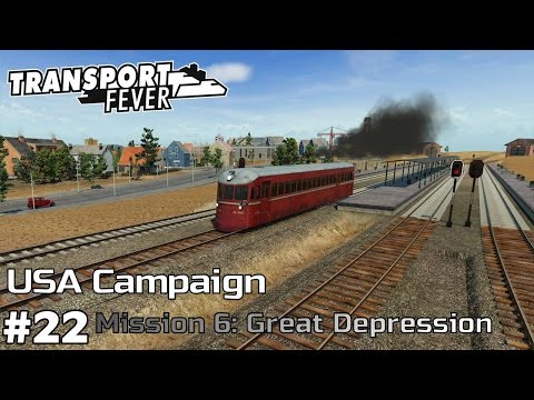 Drilling Oil and Passenger Services - America Campaign [Mission 6] Transport Fever [ep22]