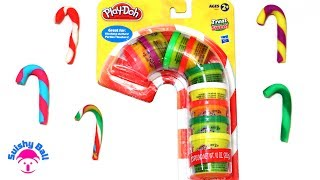 Play Doh Candy Canes