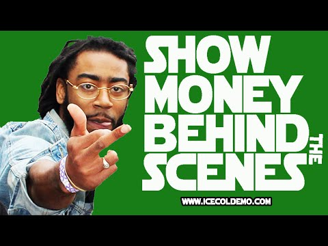 LIVE from Show Money video shoot!!