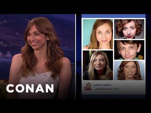 Lauren Lapkus Gets Mistaken For DJ Qualls   CONAN on TBS