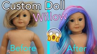 American Girl Doll Customization ~ Willow Grey