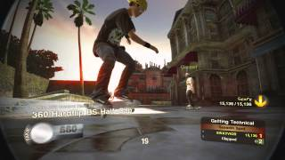 Skate 2 Getting Technical 27,365 Points