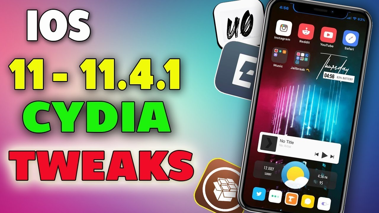 Top 5 iOS 11 - 11 4 - 11 4 1 Jailbreak Tweaks! by DudetECH