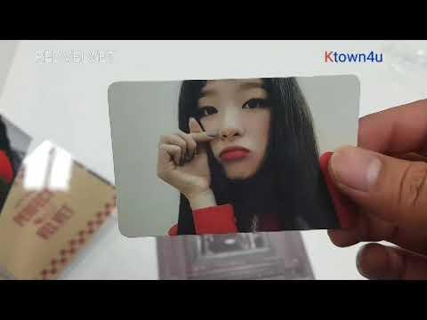 [Ktown4u Unboxing]: Red Velvet - Album Vol.2 [Perfect Velvet]