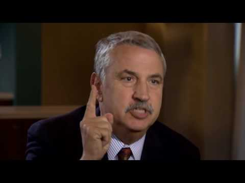 Thomas Friedman  Trump 'will suck your brains out'.